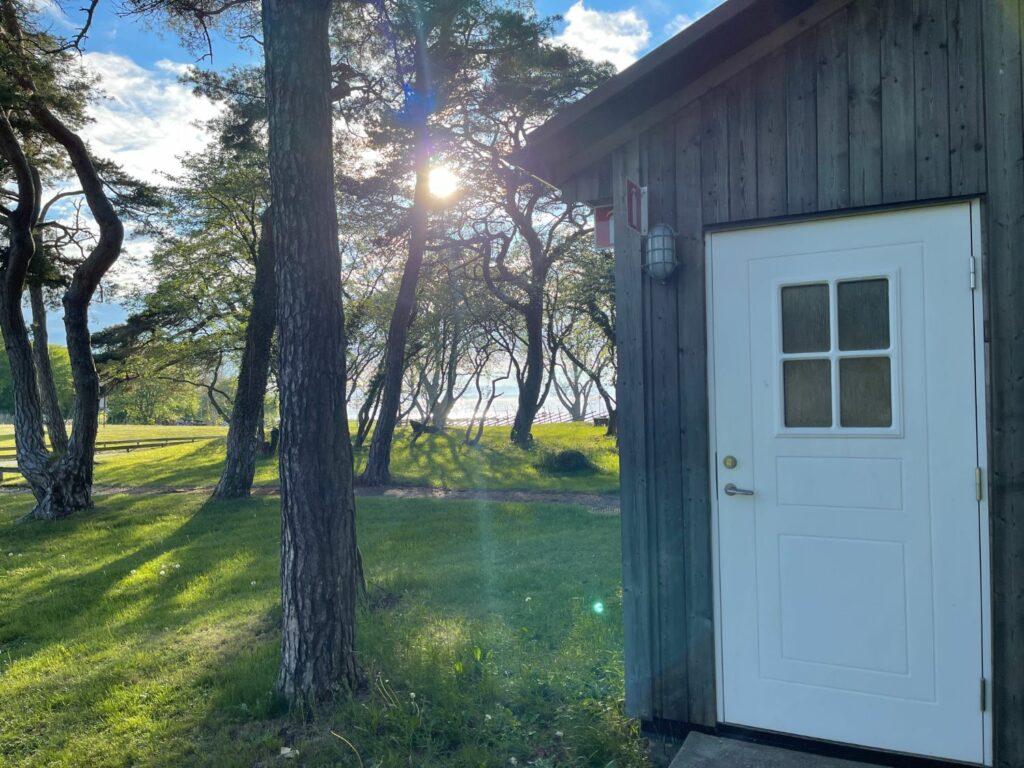 Klassresa till Gotland Gustavsvik Bastu