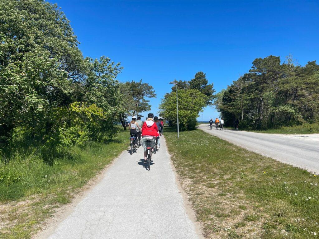Cykelutflykt till Snäck