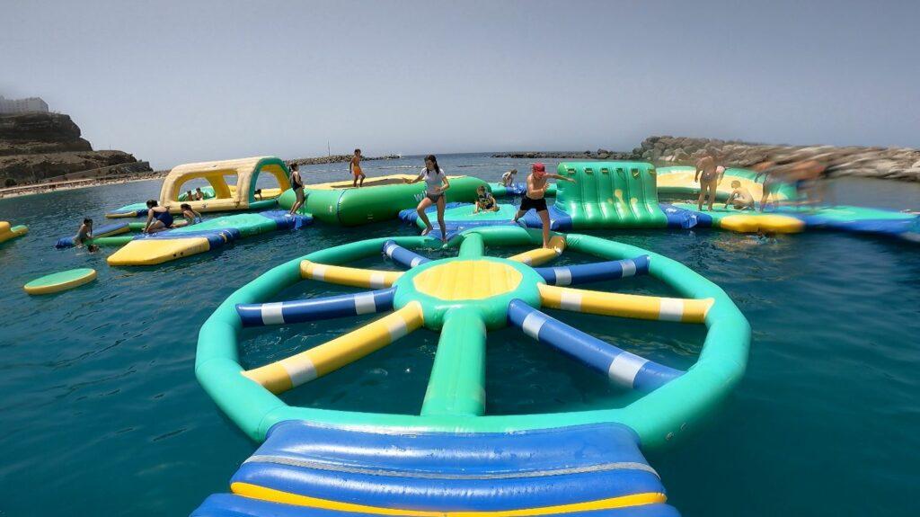 Vattenland på Playa De Amadores