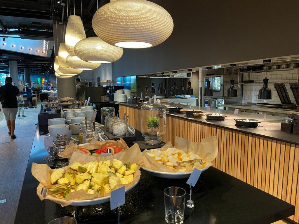 Frukost på Comfort Hotel Arlanda