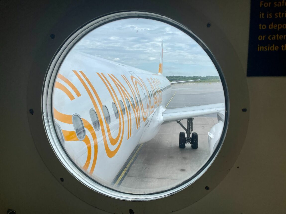Flyg med Vings flygbolag Sunclass Airlines till Gran Canaria