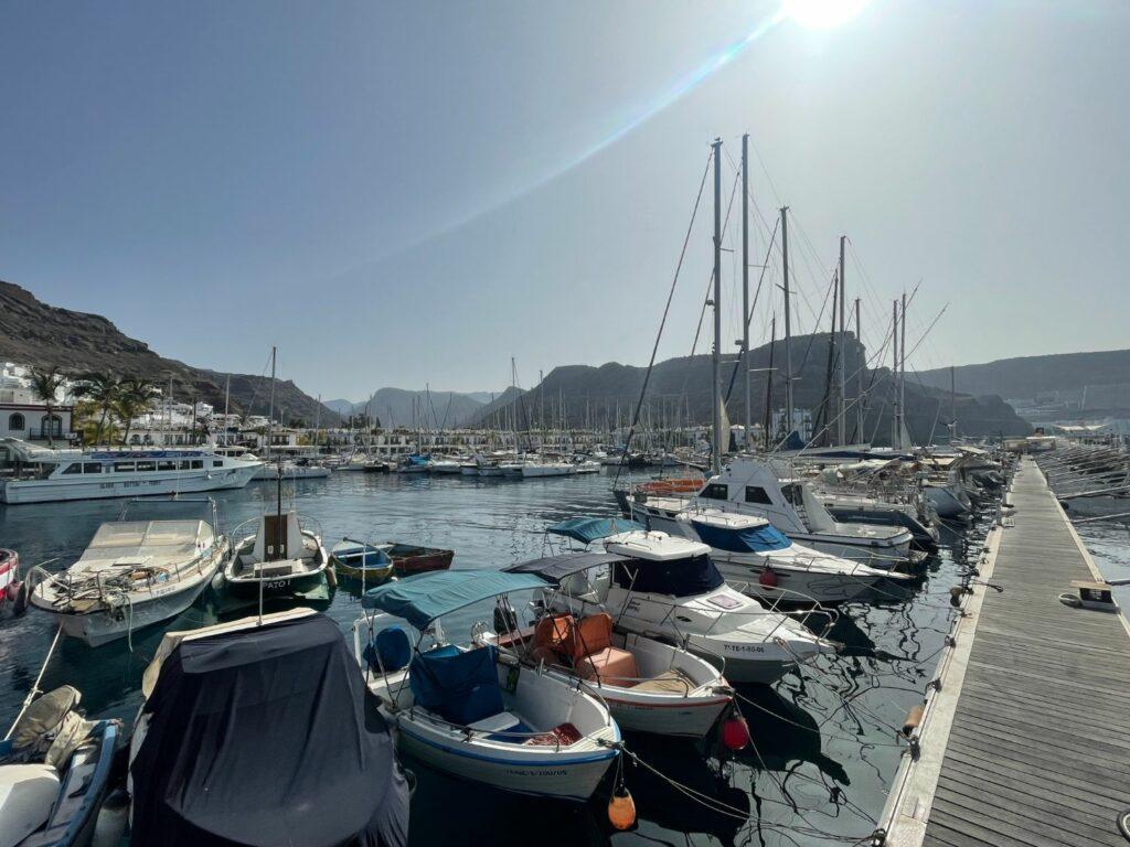 Hamnen i Puerto de Mogan