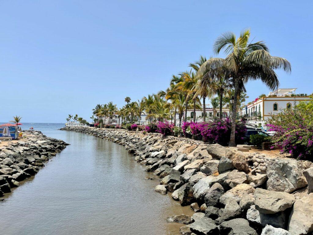 """Kanaler i Puerto de Mogan - """"Lilla Venedig"""""""