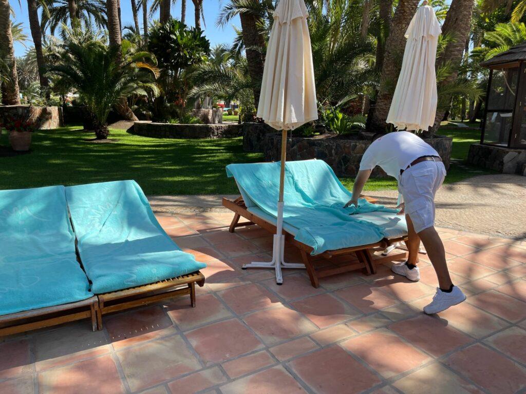 Pooler på Seaside Palm Beach