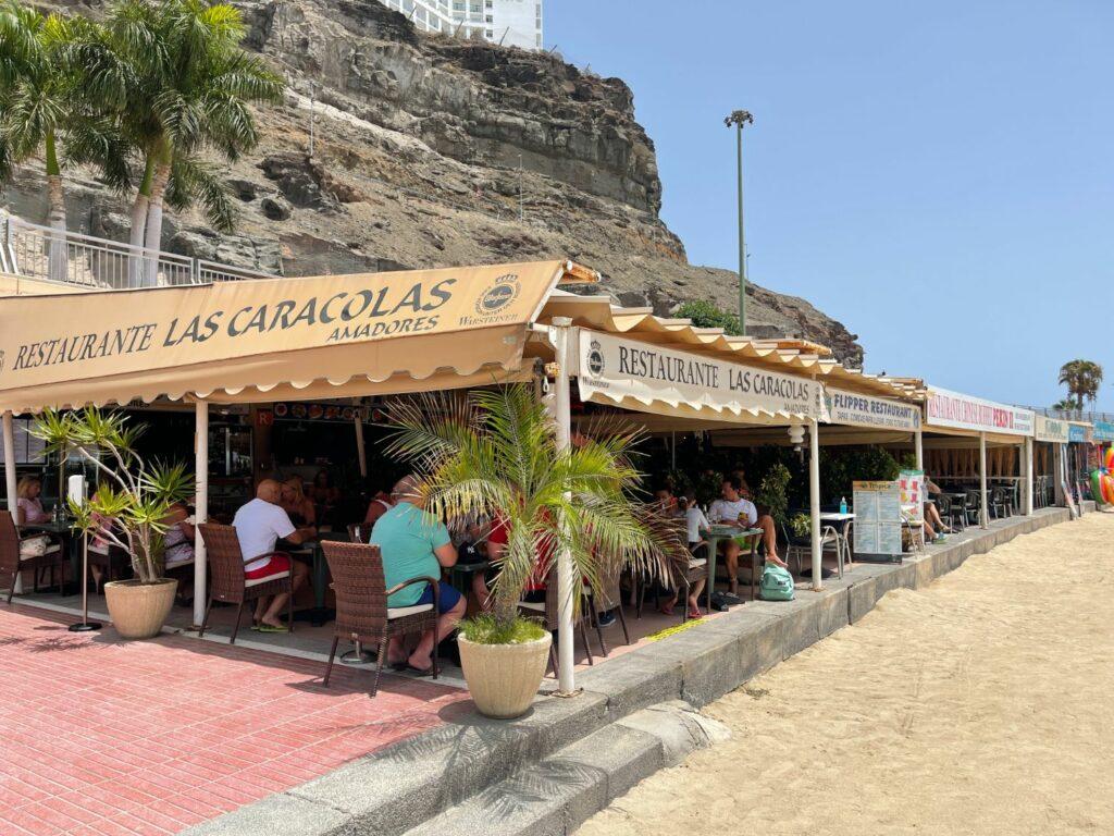 Bästa restaurangen på Playa De Amadores