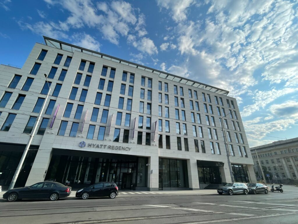 Hyatt Regency Sofia - stadens nyaste hotell