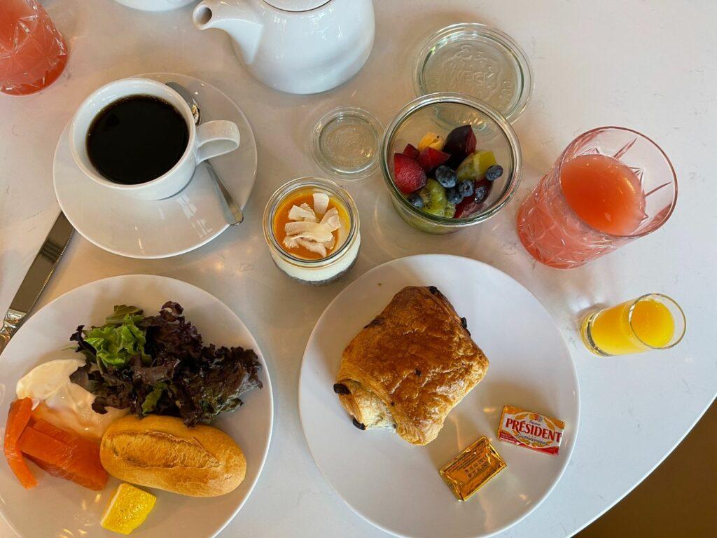 Frukost på Hyatt Regency